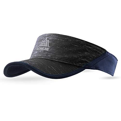 TRIWONDER Unisex Kappe Schirmmütze Sonnenhut Baseball Cap Mütze für Damen, Herren, Tennis, Running, Golf (Grau)