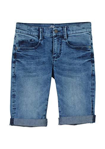 s.Oliver Junior Jungen 402.10.103.26.180.2100957 Jeans-Shorts, Blue, 170
