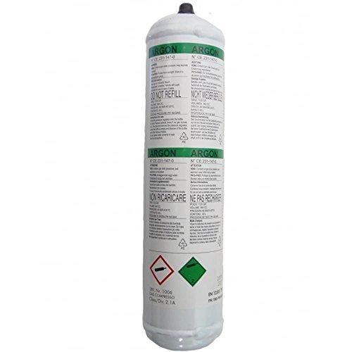Telwin 802050 Bombona Gas argón, 1 l, no recuperable