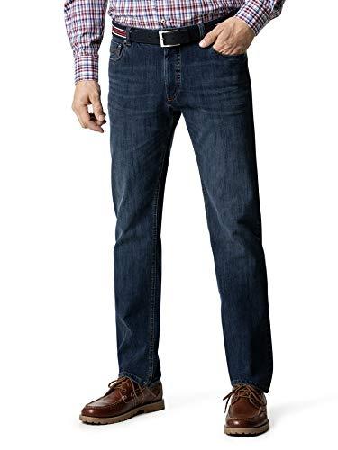 Walbusch Herren Gürtel Jeans Modern Fit einfarbig Dark Blue 27
