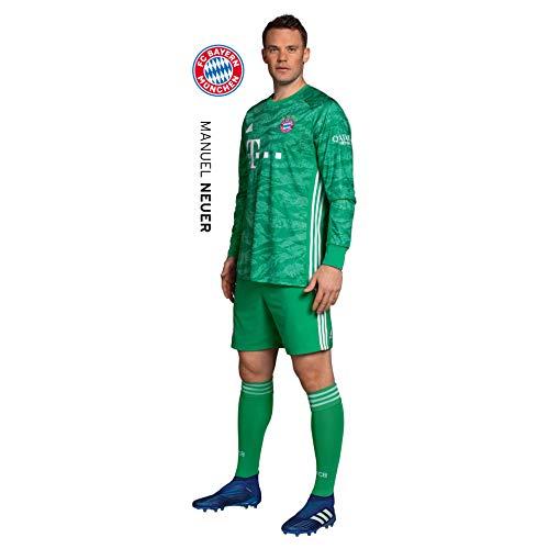 K&L Wall Art Wandsticker, Wandtattoo, Aufkleber, Poster selbstklebend - FC Bayern - Manuel Neuer (28x90 cm)