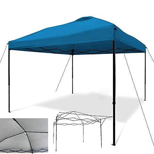 outdoor Gazebo 3x3m Pop Up Hollow Frame Fully Waterproof Anti-Uv Garden Outdoor Bbq Party Tent