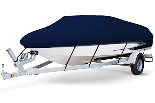 New 7 oz Solution Dyed Polyester Navy, Styled to FIT Boat Cover for Chaparral 212 SUNESTA I/O W/EXTD...