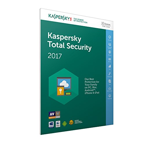 Kaspersky Total Security 2017(PC/MAC/Android)