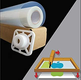 "$190 » 50""x100ft. Waterproof Inkjet Transparent Film 1 Roll Screen Printing Film for Water-based Pigment and Dye Printers"