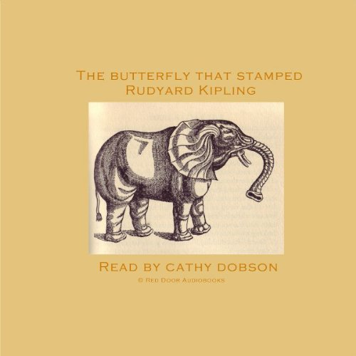 The Butterfly That Stamped audiobook cover art