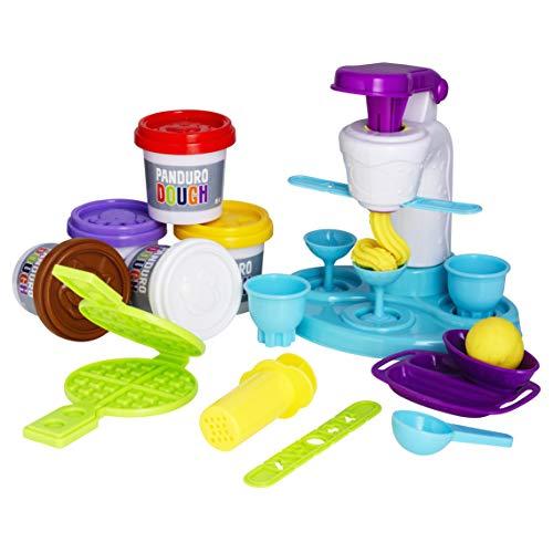 Panduro Play Dough DIY-Set Eismaschine Bar für Kinderknete Spielen - für Kinder ab 3 Jahr