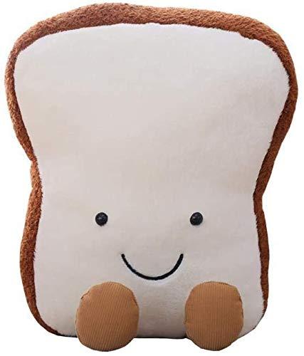Cartoon toast kussen Fun Food knuffel pop Vivid Decor van het Huis (Small),30cm