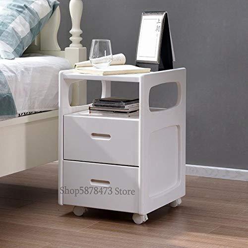 HJFGSAK Bedside table Solid Wood Bedside Table Simple Modern Small Storage Cabinet Bedroom Narrow Mini Pine Bedside Cabinet,Sparks Fy 1