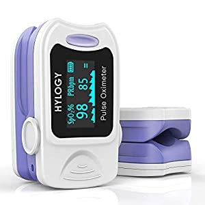 ❤Profesional y confiable❤HYLOGY Oxímetro viene con buena calidad y alta aplicabilidad, que ha sido certificado por profesionales de la salud. Mide con precisión la SpO2 y el pulso en unos 8 segundos. ❤Fácil de usar❤Sólo es necesario que los usuarios ...