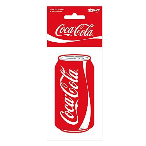 airflair CCLUF001 Auto Lufterfrischer Original Coca Cola Dose, Rot, 0