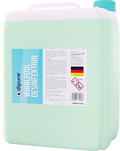 dipure Whirlpool-Desinfektion & Reinigung 5 Liter Kanister