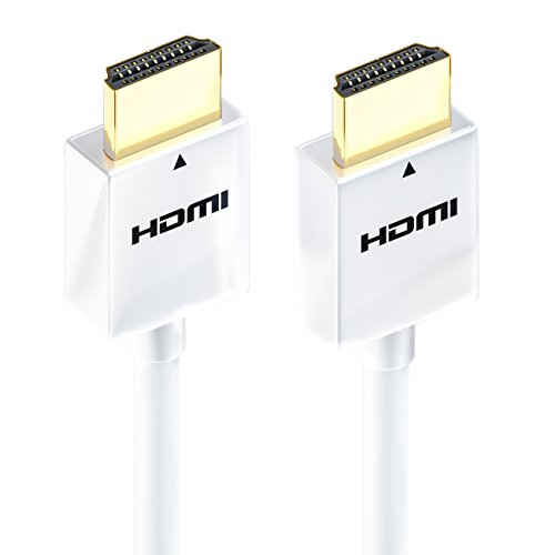 deleyCON 1m HDMI Kabel SLIM High Speed mit Ethernet (Neuster Standard) 3D 4K ULTRA HD SUPER flexibel