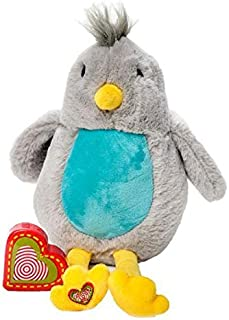 My Baby's Heartbeat Bear - Vintage Stuffed Bird with a 20 Second Voice/Sound Recorder Keeps Your Baby's Ultrasound Heartbeat Safe! - Vintage Bird