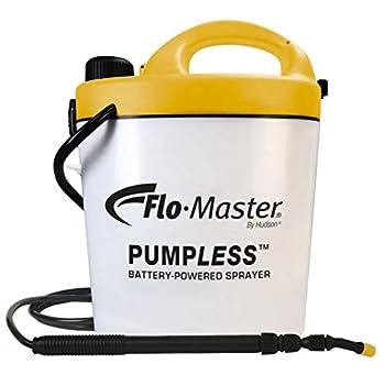 Flo-Master by Hudson 5BPL Pumpless 1.3 Gallon Battery Powered Sprayer Translucent