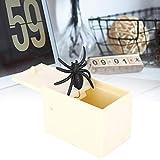 Spider Box, juguetes de broma de superficie no pulida respetuosos con el medio ambiente para otras fiestas de Halloween para el día de los inocentes