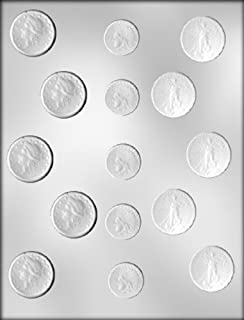 CK Products Assorted Gold Coins Chocolate Mold