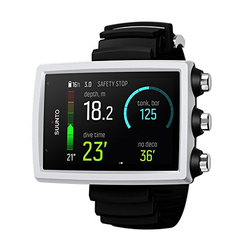 SUUNTO Eon Core Wrist Dive Computer - White with Transmitter and USB 3