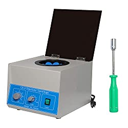 commercial Podoy Electric Lab Benchtop Centrifuge, low speed, 4000 rpm, 50 ml, 6 tubes, 0-60 minutes. Speed control timer … benchtop centrifuges