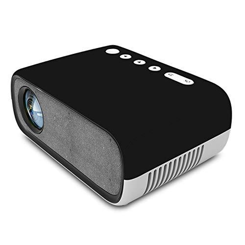 Proyector, VideoProyector, Compatible con Full HD 1080P, Proyector De Cine En Casa con Pantalla, Compatible con HDMI USB Home AV Theater, Blanco