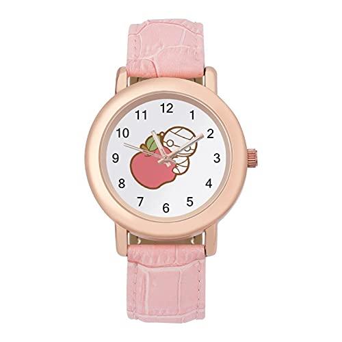 ミイラの飼い方 腕時計 レディース 可愛い 安い 女子 柔らかいベルト PANMAX 革ベルト 本革 ガールズ 学生 キッズ ウォッチ 誕生日 成人式 新学期 プレゼント キャラクター グッズ