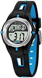Calypso - K5506/4 - Montre Garçons - Quartz Digitale - Eclairage/Chronomètre/Temps intermédiaires/Alarme - Bracelet Plasti...
