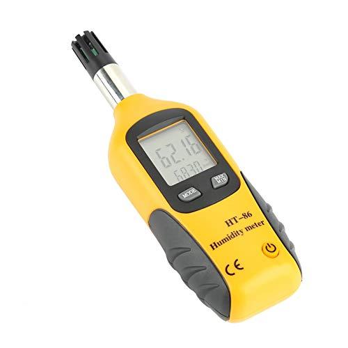 Termómetro digital Higrómetro Termómetro de carne de bulbo húmedo Temperatura de punto de rocío Termómetro LCD Termómetro de cocina para cocinar para medir la temperatura de la leche
