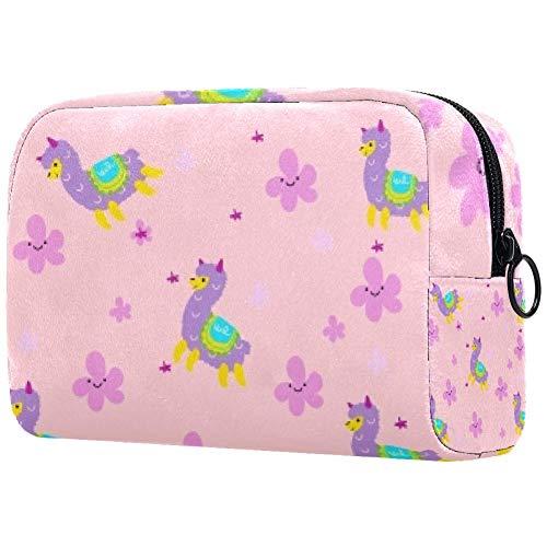 Bolso de maquillaje personalizado para mujer, bolsa de aseo portátil, bolsa de...