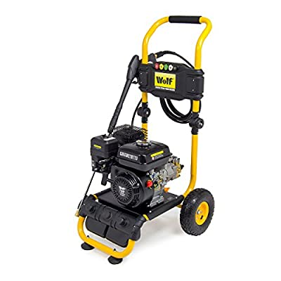 Wolf 240BAR Petrol Pressure Washer 3500psi 7HP 4-Stroke Engine with Quick Fit Nozzles & 6m Hose from Wolf