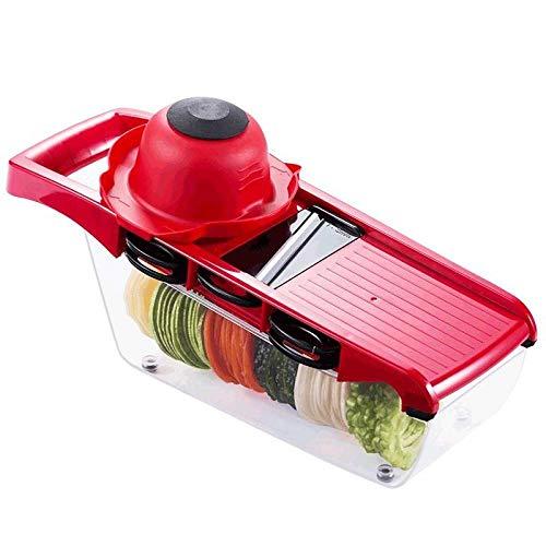 ZHOUL Obst Und Gemüsescheib Schneidewerkzeug Für Gemüse Multifunktions-Küchenschredder