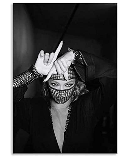 JYSHC Beyonce On The Run Tour Máscara Carteles Rompecabezas De Madera 1000 Piezas Juguetes para Adultos Juego De Descompresión Fe987Jw