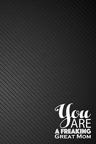 6x9 inches - 110 Pages Professionally Designed Handbook Lettering Concepting Black Cover Cover You are Freaking Amazing: Dot Grid Bullet Journal Notebook Essentials Dot Matrix Planner Diary note