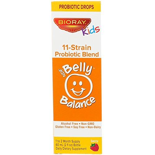 BIORAY Kids Belly Balance 2 Fl oz