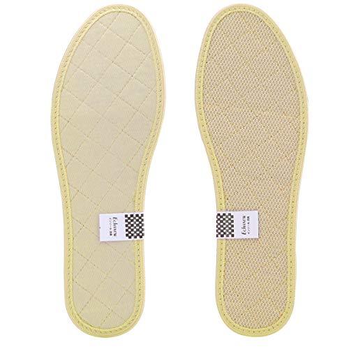 Echanewインソール 消臭 抗菌 中敷き 防臭 吸湿 爽やか リフレッシュ 足 臭い 靴中敷き 天然 い草 イ草 男女兼用 (M(25.0~25.5cm)2足)