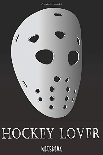 Hockey lover Mask: Note book