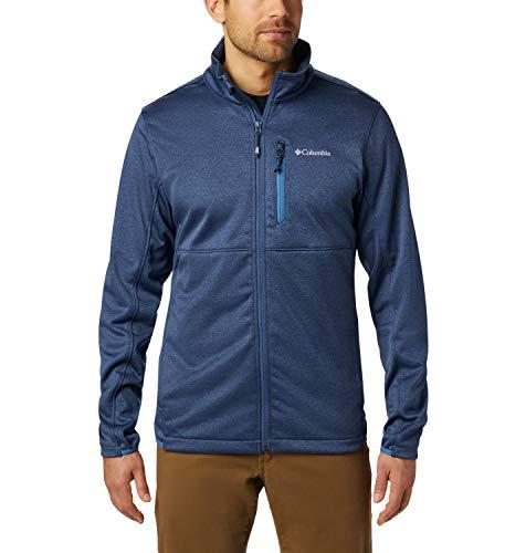 Columbia Outdoor Elements Forro Polar Con Cremallera, Hombre, Dark Mountain, Scout Blue, XL