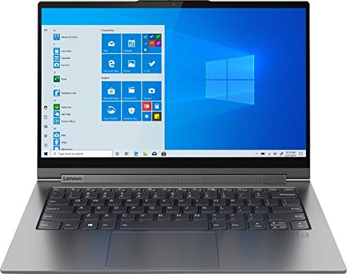 Lenovo Yoga C940 2-in-1 14' Ultra-Light Touch-Screen Laptop, FHD, Intel Core i5- 1035G4, 8GB RAM 512GB PCIe SSD, Fingerprint Reader, Backlit Keyboard, HD Webcam, Thunderbolt 3, Iron Gray, Windows 10