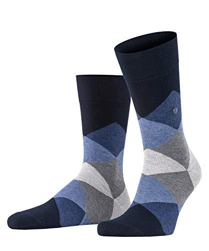 BURLINGTON Herren Clyde M SO Socken, Blickdicht, Blau (Dark Navy 6376), 40-46 (UK 6.5-11 Ι US 7.5-12)
