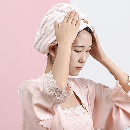 Haardoek Wrap Turban Microvezel, Haardroging Handdoeken met Gezicht Handdoek, Snelle Droge Handdoek Haar Turbanen, Haarverzorging Anti Frizz Super Absorbens