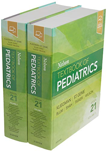 Compare Textbook Prices for Nelson Textbook of Pediatrics, 2-Volume Set 21 Edition ISBN 9780323529501 by Kliegman MD, Robert M.,St. Geme MD, Joseph