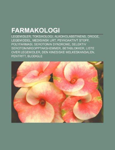 Farmakologi: Legemidler, Toksikologi, Al
