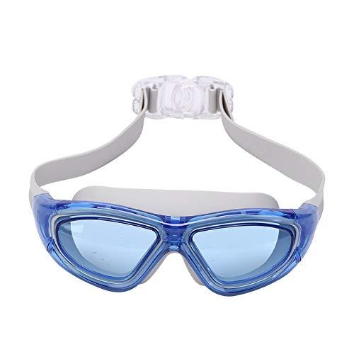 Not application Gafas de natación Impermeables, Gafas de natación antiniebla, cómodas, de Silicona, Gafas de natación Unisex con Funda de Espejo