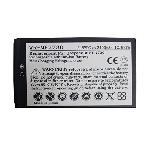 JIE Replacement 40123117 Battery for Novatel MiFi Verizon Jetpack 7730L P/N: 40123117
