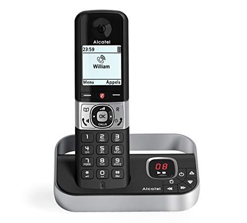 Alcatel F890 voice noir EU téléphone sans fil avec répondeur