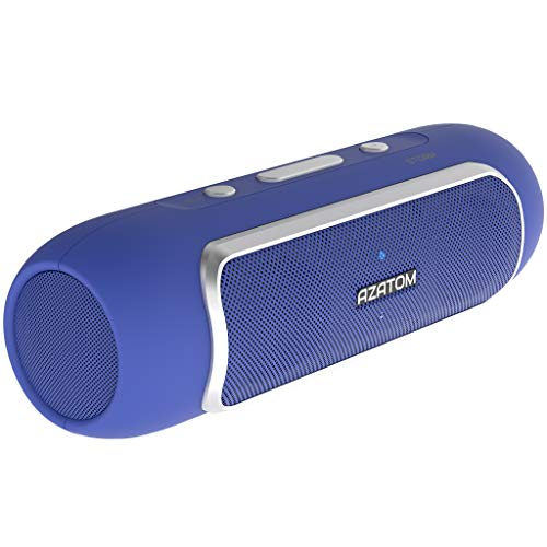 AZATOM Storm - Bluetooth 5.1 Portable speaker - Stereo Speakers - Twin Bass...