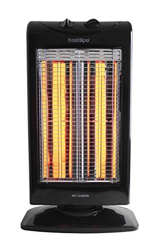 Bastilipo RFC-900 Estufa-Fibra de carbono-1000 W-Muy eficiente-Bajo Consumo, 1000 W, Plástico, Gris