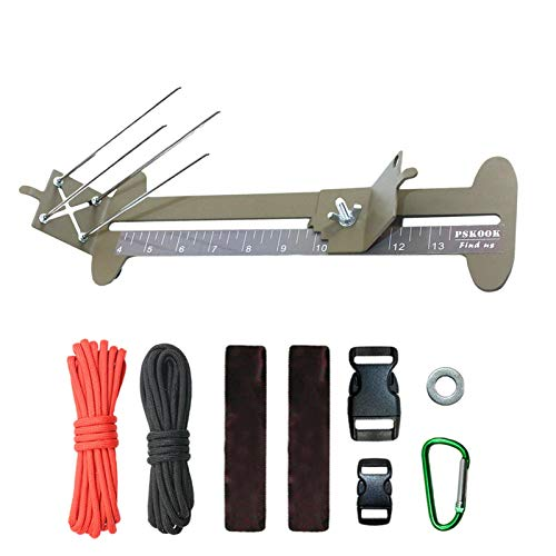 Fist Jig And Paracord Jig Bracelet Maker Paracord Tool Kit - Adjustable Length Metal Weaving DIY Craft Maker Tool Solid Steel Accessories,41x38x12cm