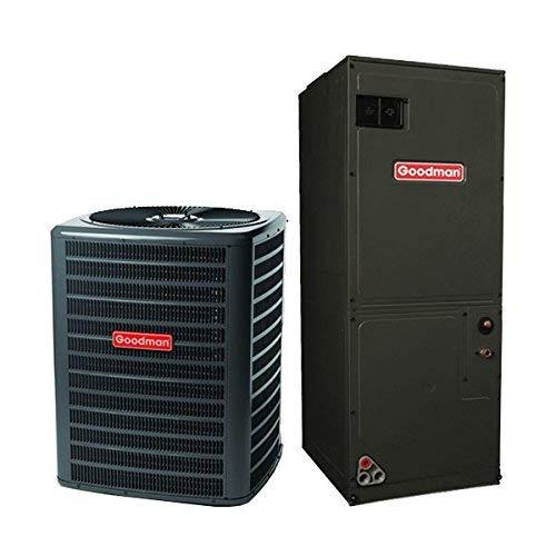 Goodman 3 Ton 14 Seer Heat Pump System with Multi Position Air Handler