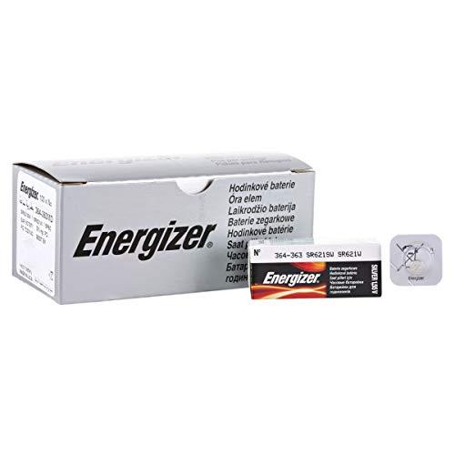 Energizer 364 363 Silver Oxide Watch Batteries SR621SW SR60