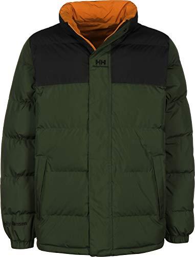 Helly Hansen Yu Puffer Jacket Unisex Adulto, 454 Mountain Green, XL